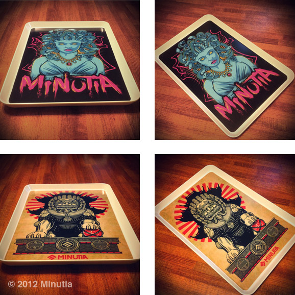 minutia, medusa, foodog, rolling tray, 420, boston