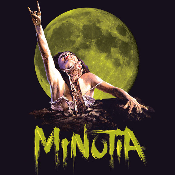 minutia, evil dead, horror, metal, graphic design