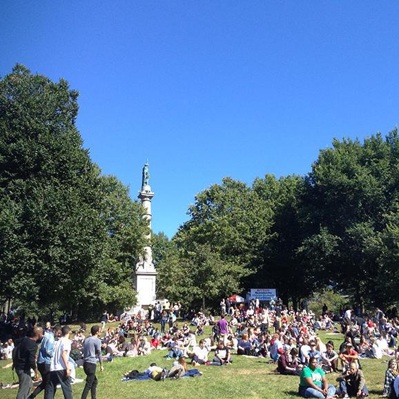 boston freedom rally, minutia, monument hill
